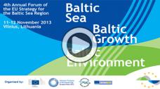 Baltijos jūros regiono strategijos metinis forumas 2013