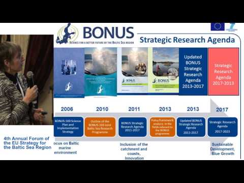 Obstacles and opportunities – BONUS as a case [EN]