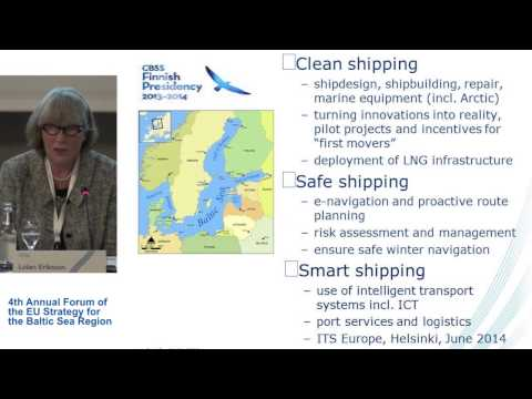 Clean, safe and smart shipping in the BS – creating blue and green growth [EN]