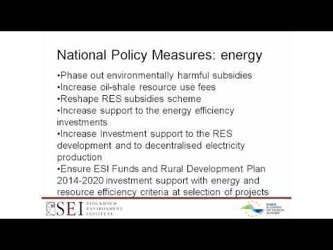 Opportunities for Low-Carbon Economy in BSR [EN]