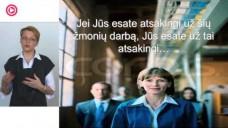 """JURGITA JANKUVIENĖ – """"Kaip atrasti potencialą tarp savo darbuotojų?"""""""
