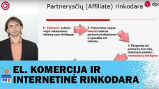 Partnerysčių rinkodara (affiliate marketing) elektroniniams verslams