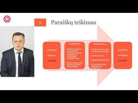 2016 metų Lietuvos KRF lėšomis finansuojamų projektų gairių pristatymas