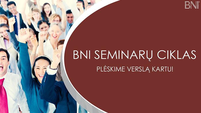 BNI seminarų ciklas