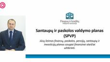 finansų valdymo planas