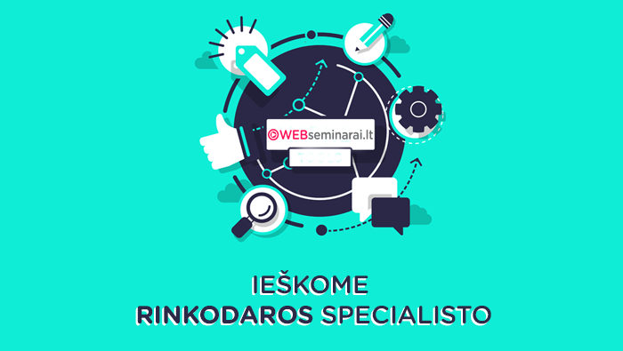 Ieškome rinkodaros specialisto!