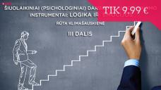 Šiuolaikiniai (psichologiniai) darbuotojų motyvavimo instrumentai: logika ir emocijos