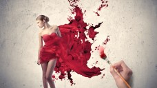 painting_the_woman_in_red-wallpaper-1280x768
