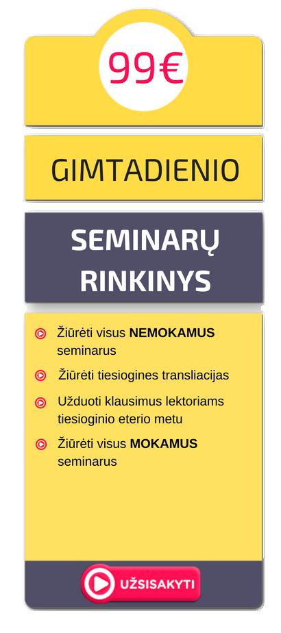 STANDARTINĖ-GIMTADIENIS
