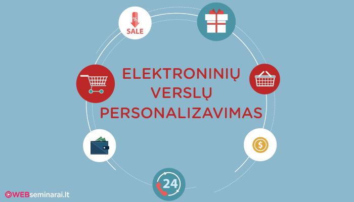 Elektroninių verslų personalizavimas