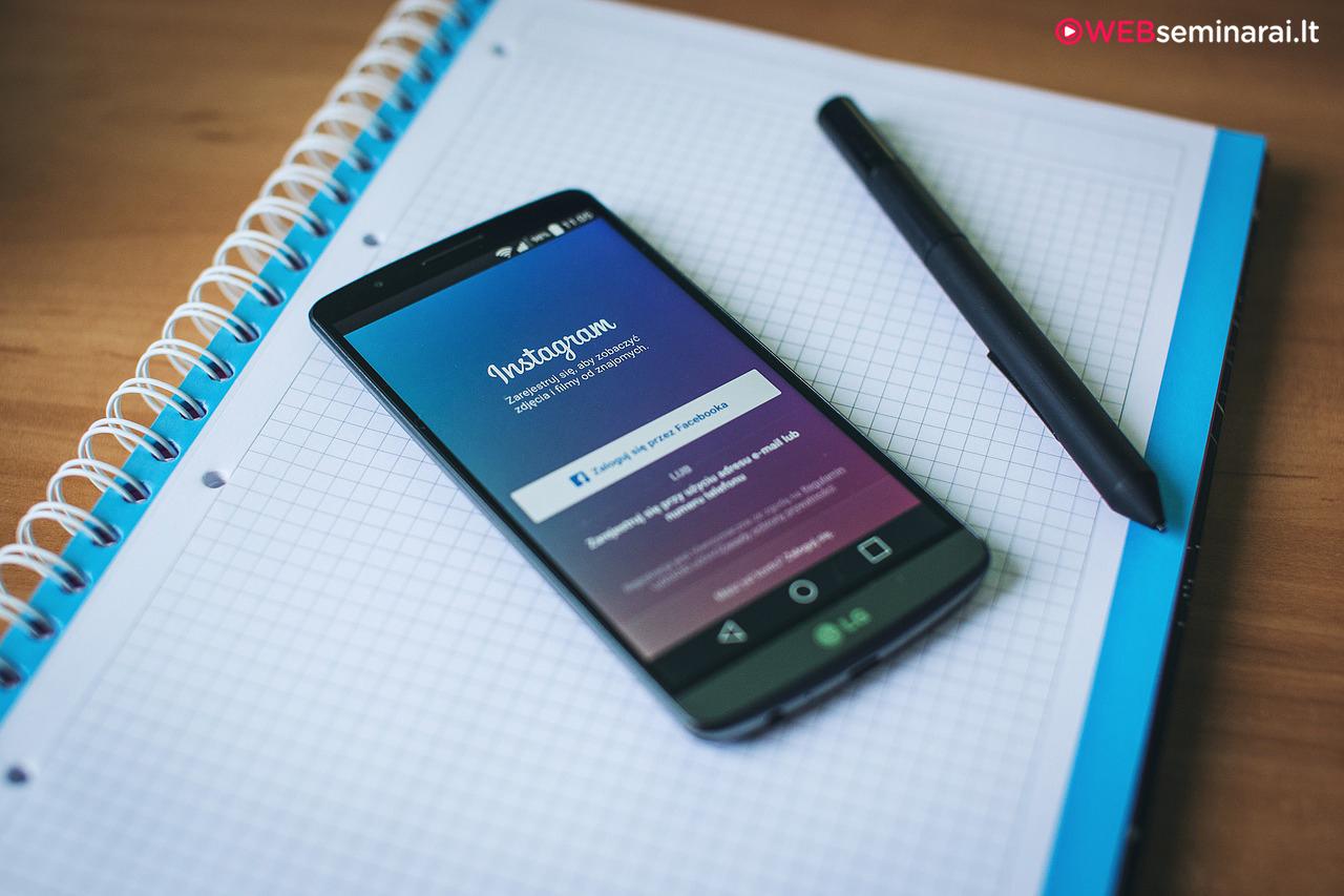 Rinkodara Instagram tinkle – ką reiktų žinoti kiekvienam rinkodarininkui?