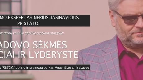 Dviejų dienų vadovo įgūdžių ugdymo stovykla: VADOVO SĖKMĖS ĮPROČIAI IR LYDERYSTĖ