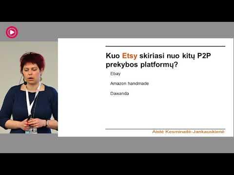 AISTĖ KESMINAITĖ – JANKAUSKIENĖ – El. prekybos vystymas Etsy platformoje