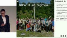 """PIJUS MAKAREVIČIUS – """"El. parduotuvės plėtra Europoje – Baldai1.lt istorija"""""""