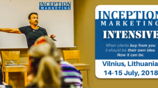 "Eric Edmeades mokymai ""Inception Marketing Intensive"""