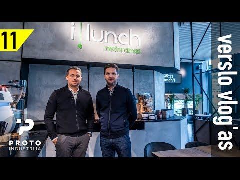 11 laida: Kaip uždirbti iš kanapių? iLunch išmanusis restoranas. Konferencijų verslas ir mokymai.